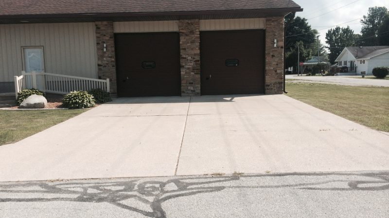 Concrete Driveway Cleaning: After