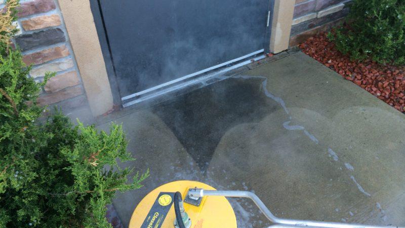 Concrete Washing During