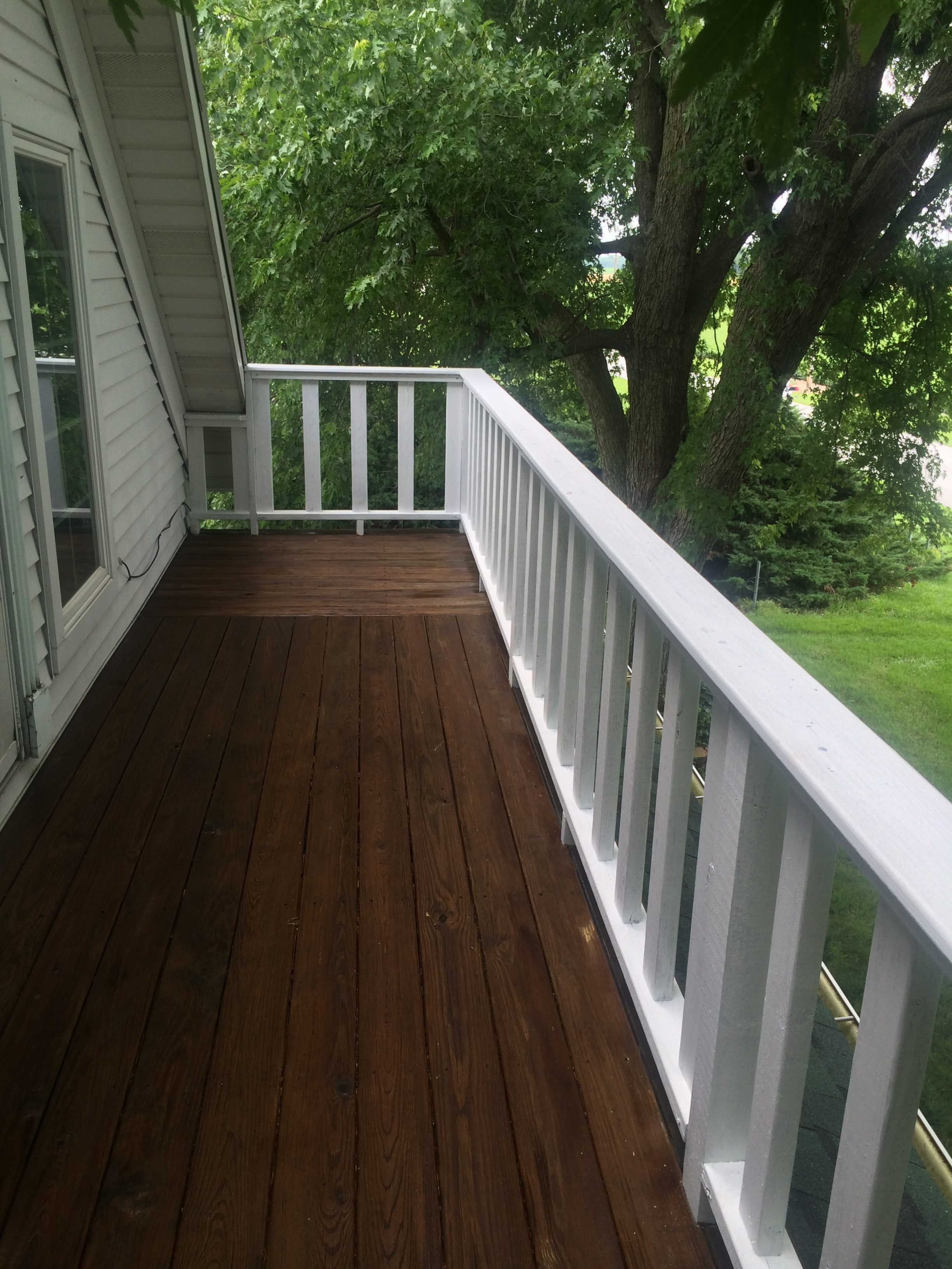Deck Staining After