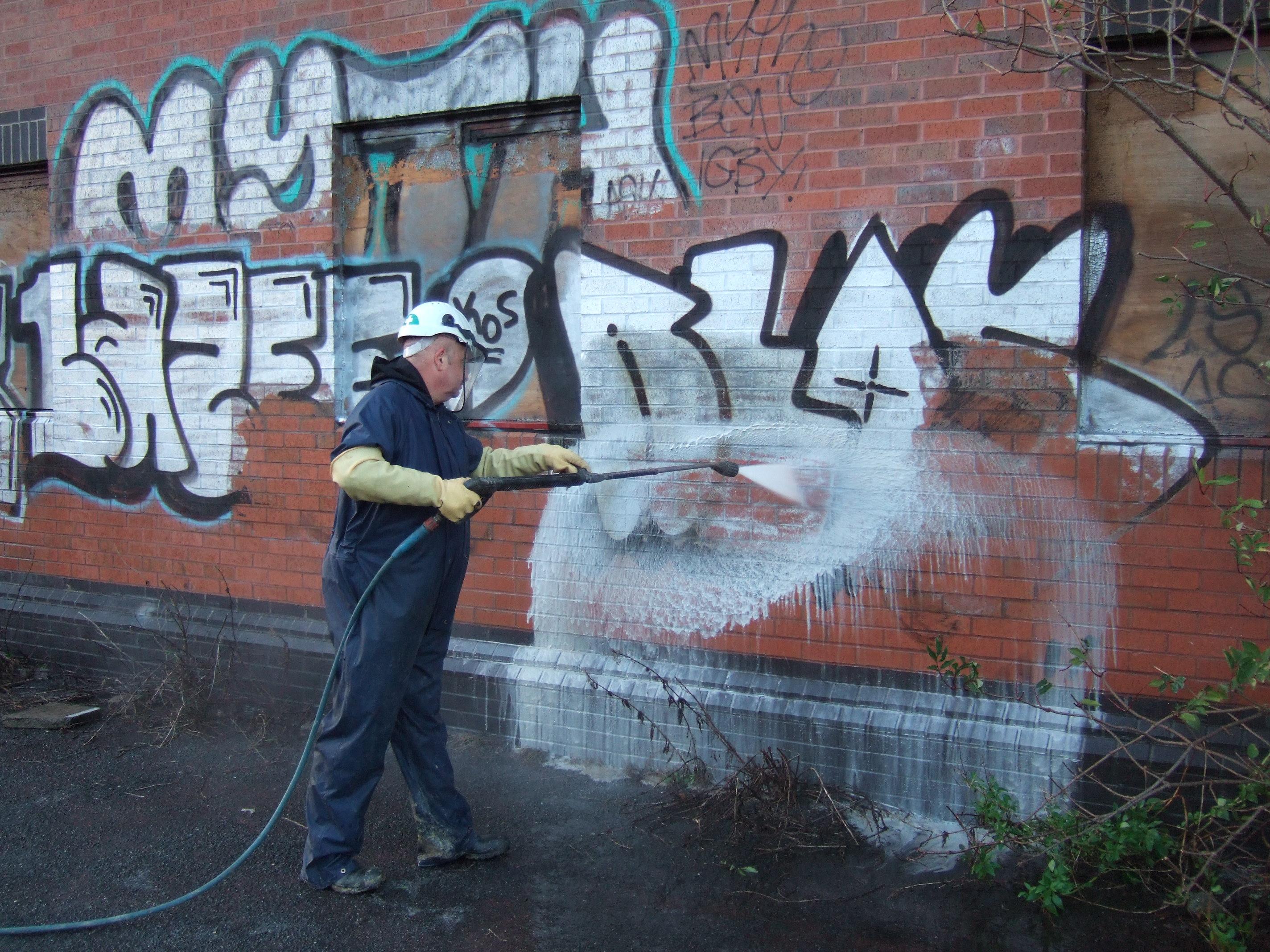 Graffiti Removal: During