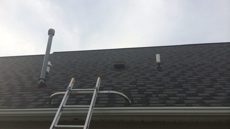 Gutter Cleaning: During