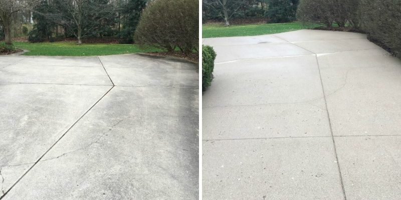 Concrete Washing Cleaning Kokomo Indiana